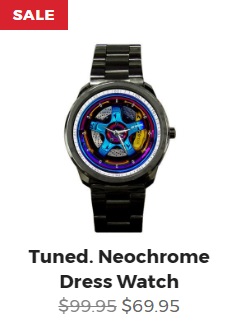 Tuned. Neochrome Dress Watch